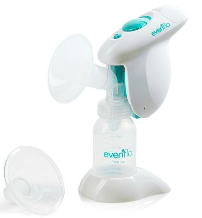 Single breast pump.